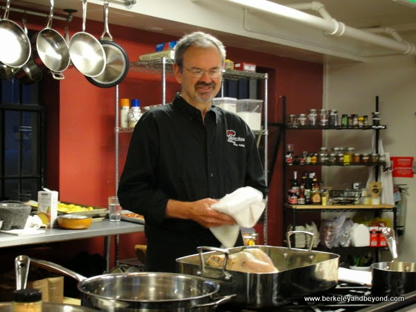 Alan Tangren, chef at Tess' Kitchen in Grass Valley, California