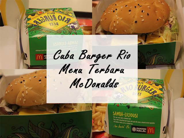 Cuba Burger Rio Menu Terbaru McDonalds