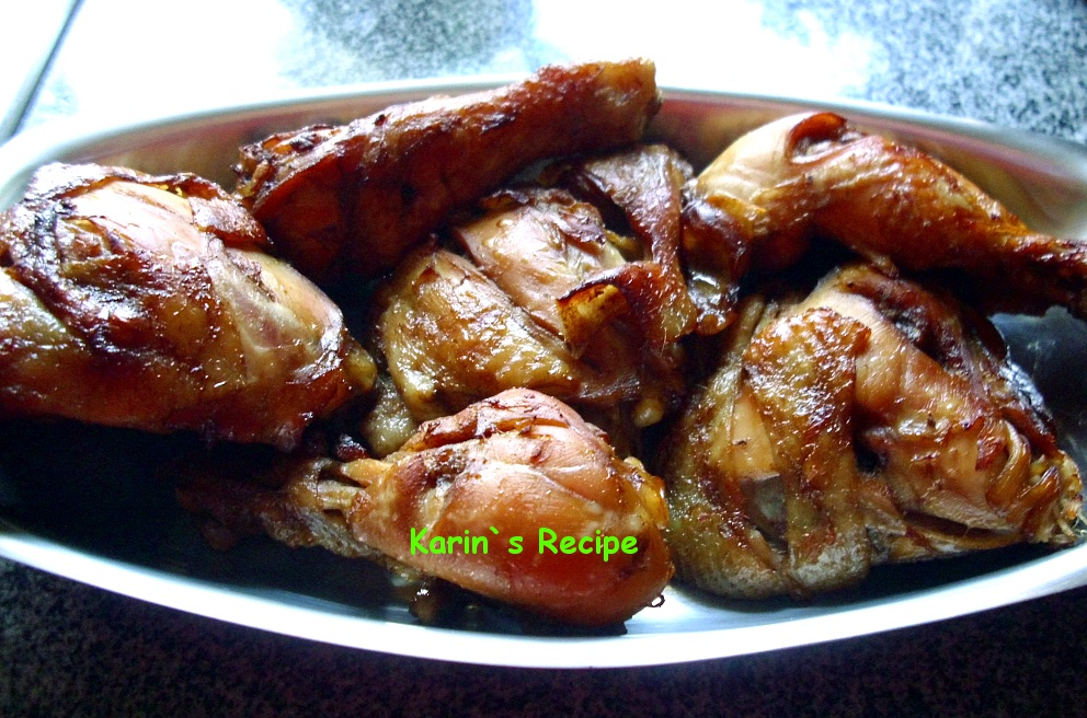 Karin S Recipe Ayam Panggang Bumbu Ngohiong Five Spice Roasted Chicken
