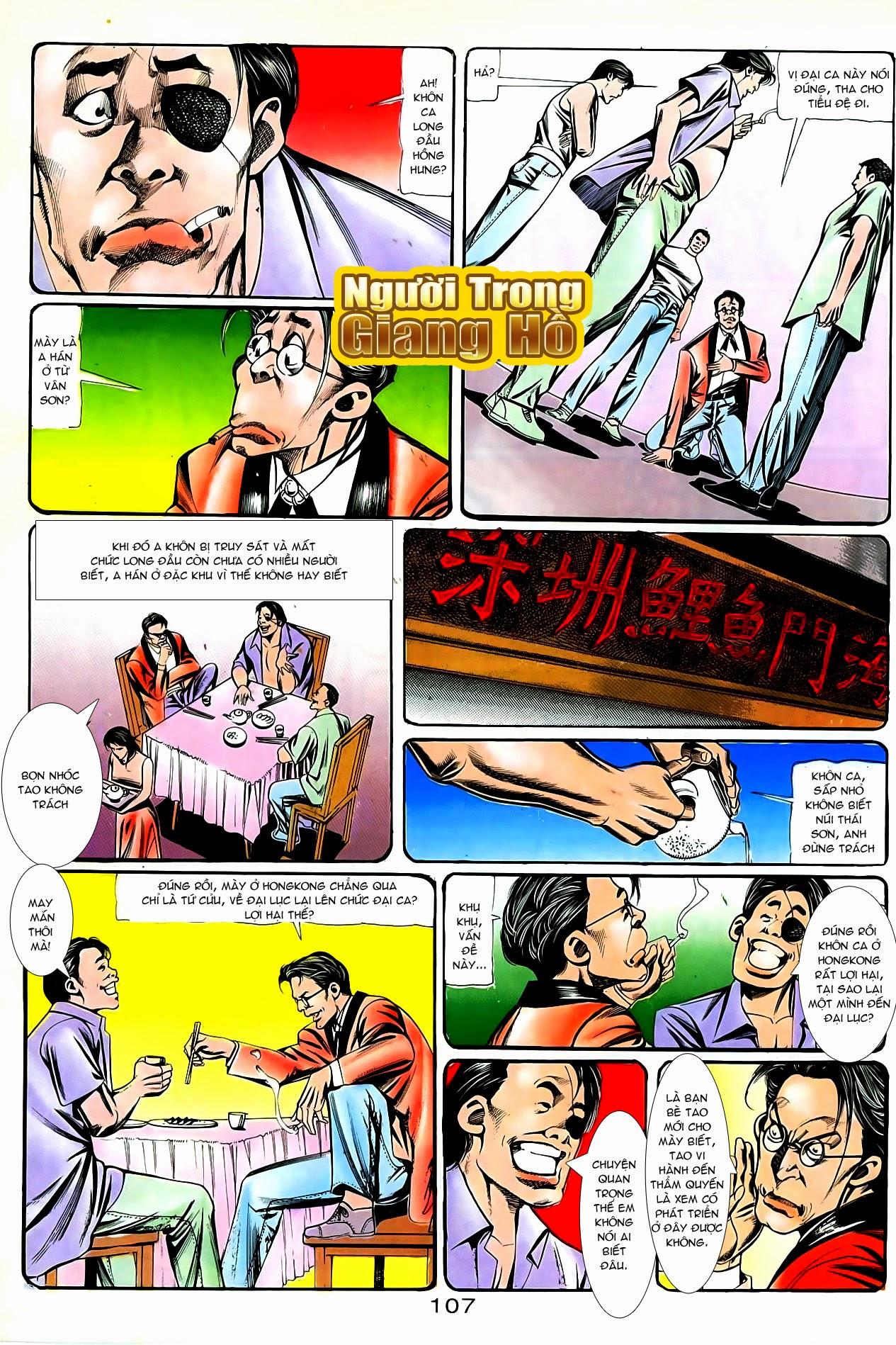Người Trong Giang Hồ chapter 87: chống lưng của a khôn trang 21