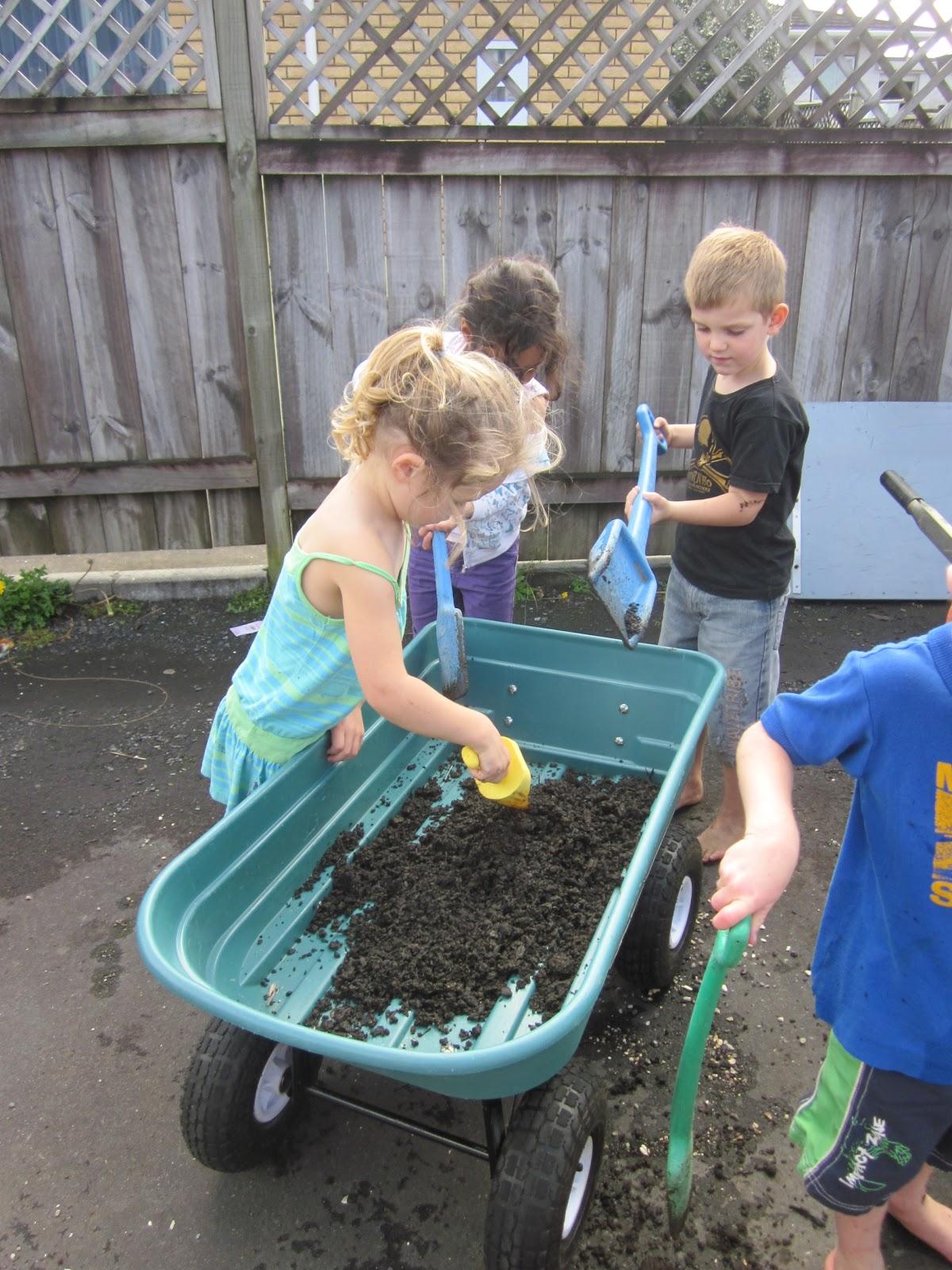 Mairtown kindergarten preparing our new winter vegetable - Prepare vegetable garden for winter ...