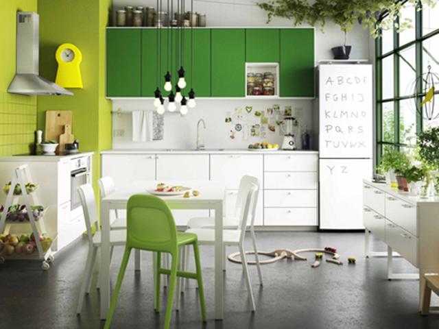 mẫu trang trí nhà bếp đẹp