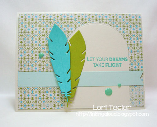 Let Your Dreams Take Flight card-designed by Lori Tecler/Inking Aloud-stamps and dies from My Favorite Things