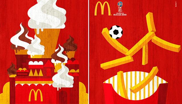 McDonald's-divertida-serie-de-posters-alusivos-copa-mundo-de-Rusia-2018