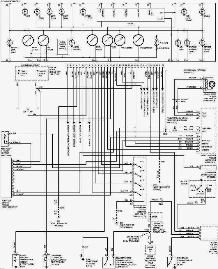 chevrolet camaro 2000 wiring diagram manual
