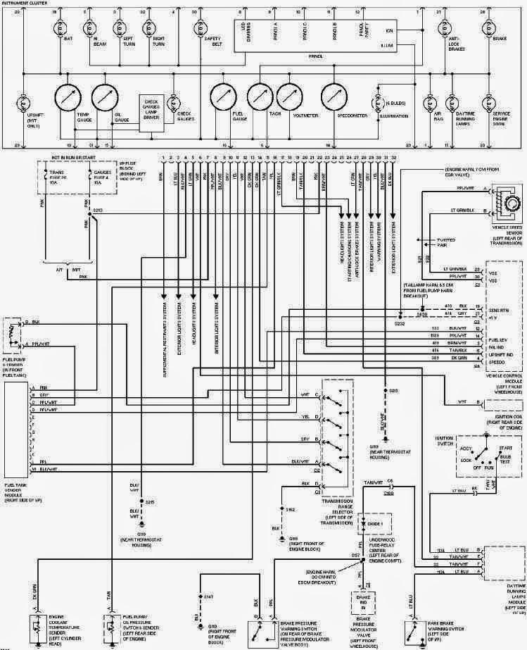 2010 camaro cluster wiring diagrams
