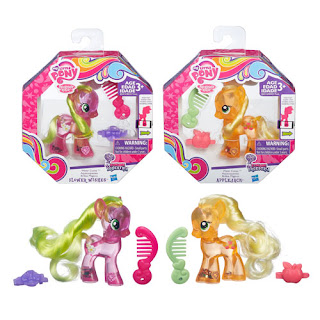 MLP Cutie Mark Magic Wave 3 Water Cuties Flower Wishes and Applejack Brushable