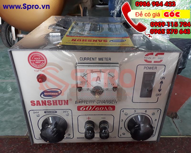 Nơi bán máy sạc bình ắc quy sanshun giá rẻ, uy tín, chất lượng nhất