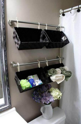 Can be used as a container of toiletries without reducing the aesthetics of the bathroom.