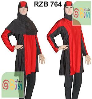 baju renang muslim syari RZB 764