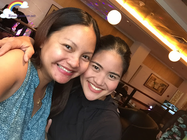 Rina Zamora and Aimee Lagman