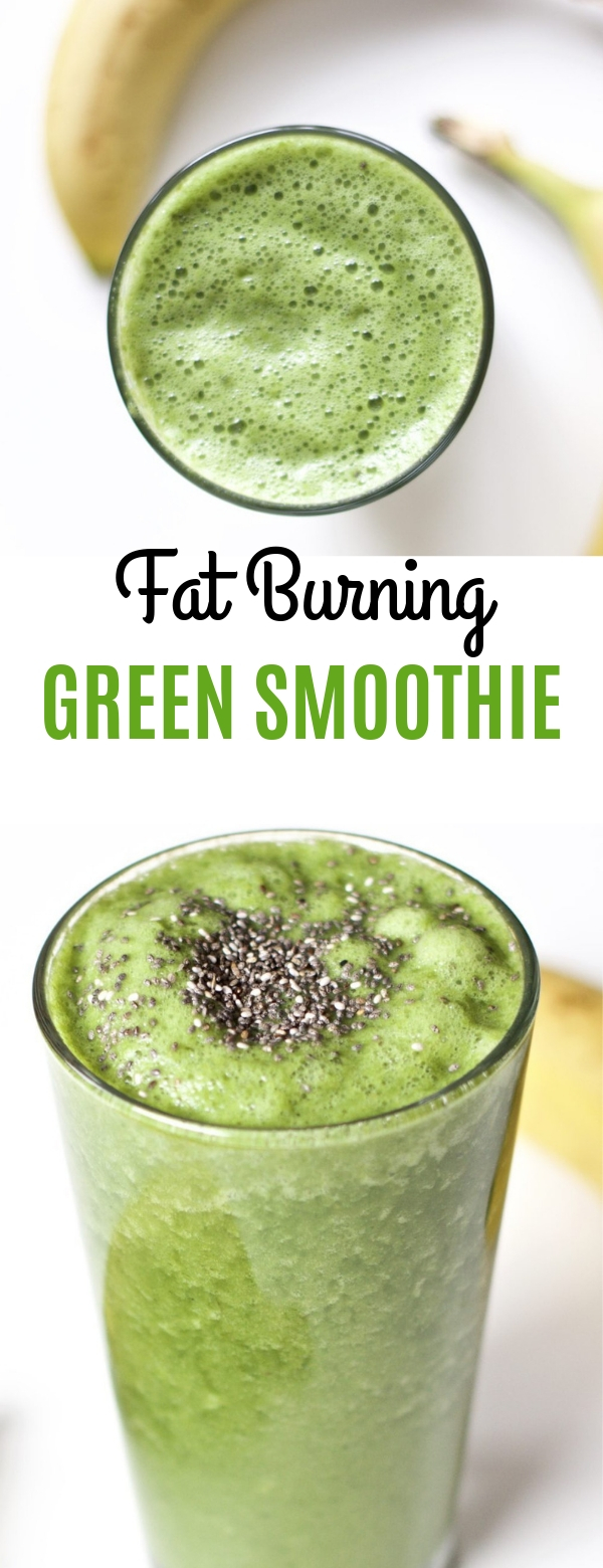 Must Try! Fat Burning Green Smoothie