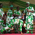 See Governor Fayose's attire as he present car keys to best teachers in Ekiti