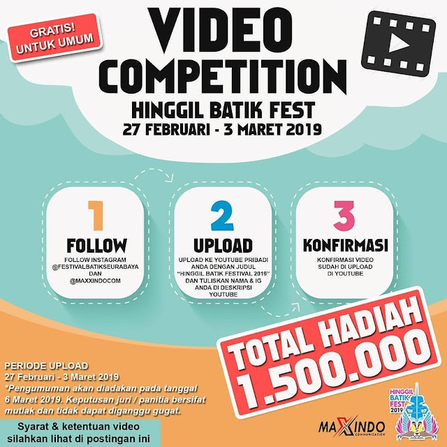 Lomba Video Competition Hinggil Batik Fest 2019 Umum