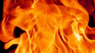 Пожар в местността Ширната в с. Барутин