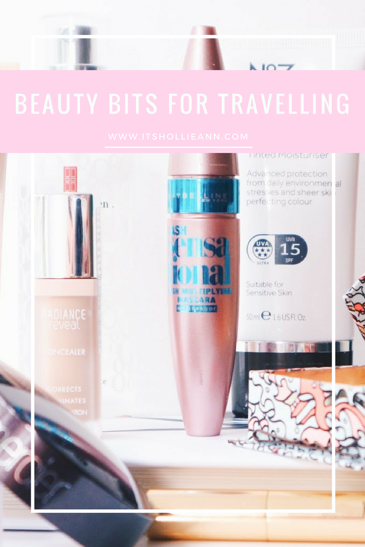 Best Beauty Bits For Travelling