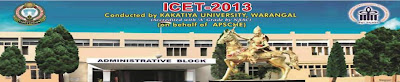 ICET 2013 Hall ticket download