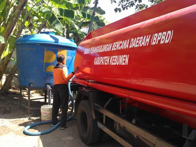 BPBD Kirim Bantuan 8 Juta Liter Air