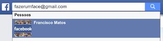 Como achar um amigo pelo email no Facebook