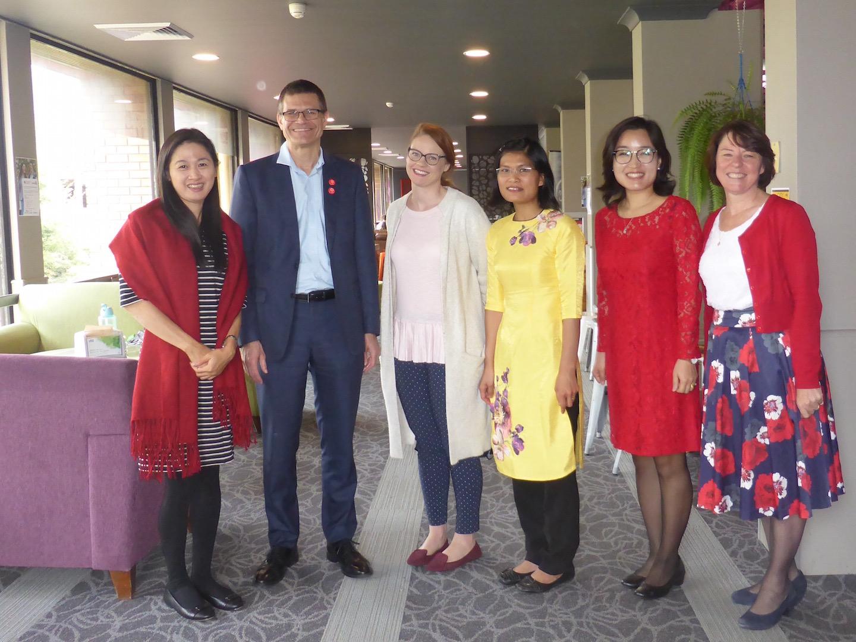 Speaking my languages: First VietSpeech team meeting