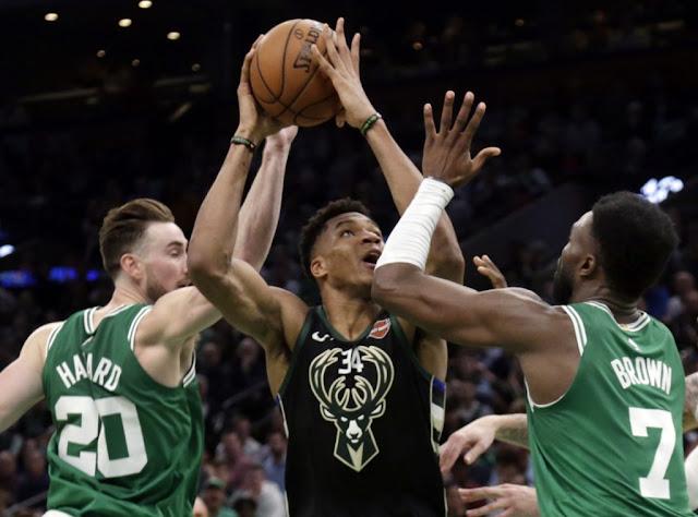 Milwaukee Bucks Mengalahkan Boston Celtics Di Gim Kedua