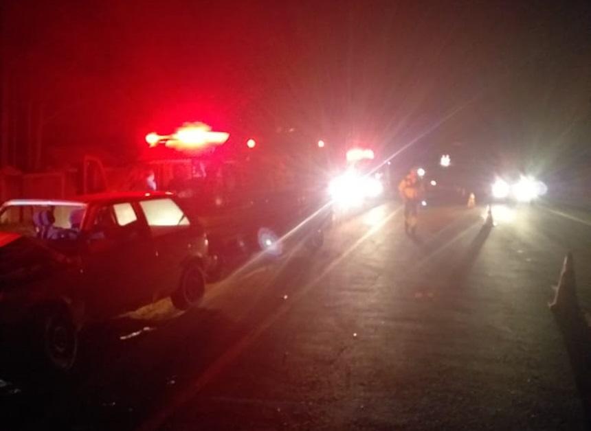 Cinco pessoas ficam feridas em acidente; Uma delas é o ex-prefeito de Severínia