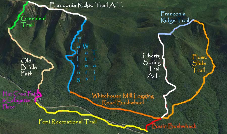 Greenleaf Hut Nh Amc Trailsnh Hiking Conditions