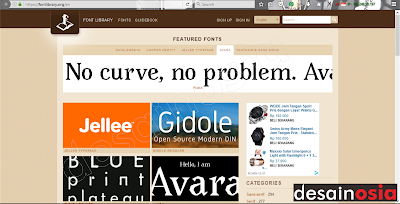 download kumpulan font keren