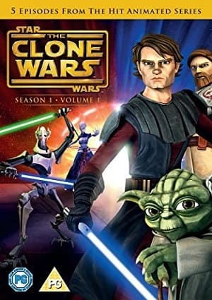 Star Wars - The Clone Wars - 1ª Temporada Desenhos Torrent Download capa