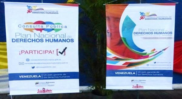 Plan Nacional de Derechos Humanos 2016-2019. Gaceta Oficial 6217 extraordinaria   01 de marzo de 2016