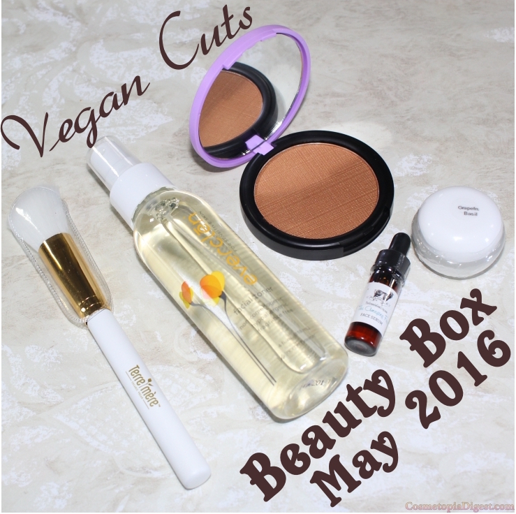 The review and unboxing of the Vegan Cuts Beauty Box for May 2016.