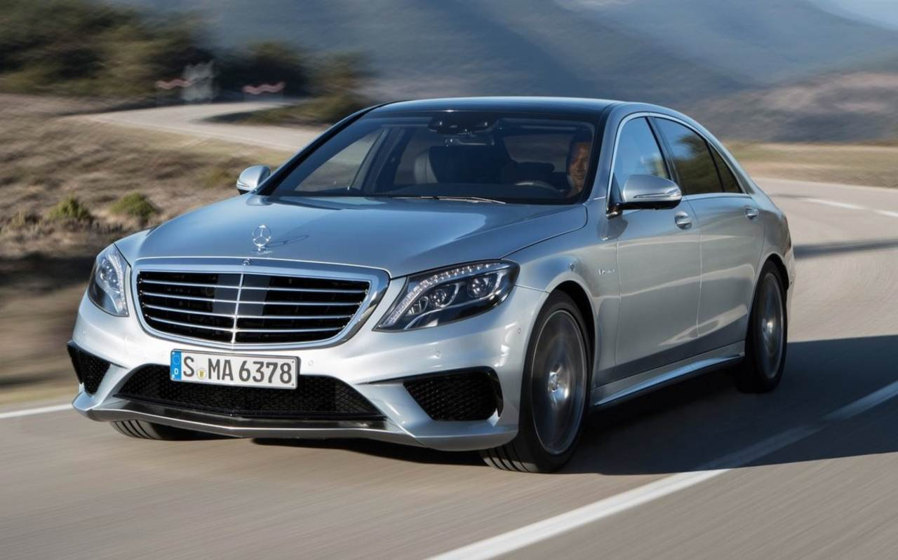 Mercedes benz s63 amg 2014 pre o parte de r 440 mil na for Mercedes benz 440