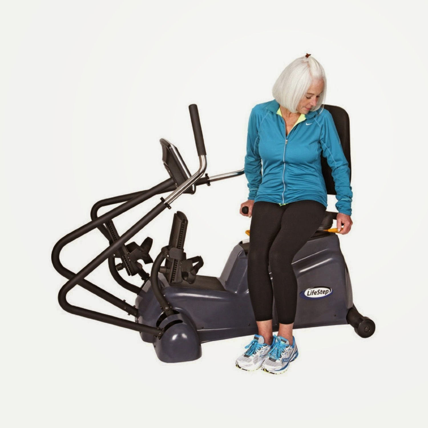 HCI Fitness LifeStep, swivel seat for easy mounting & dismounting
