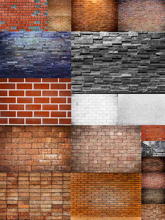 تحميل 20 تكستر لحائط من الطوب بجودة عالية جدا