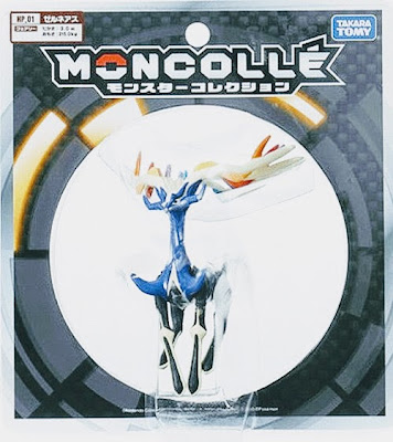 Xerneas figure hyper size Takara Tomy Monster Collection MONCOLLE HP series