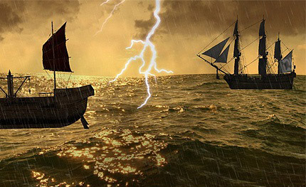 Stormy-Sea-3D-Screensaver