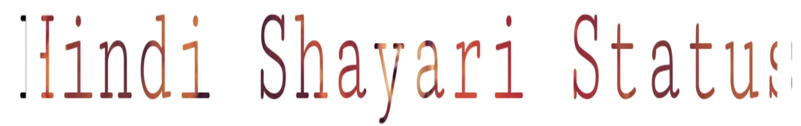 Hindi Shayari Status - Latest Shayari Status In Hindi