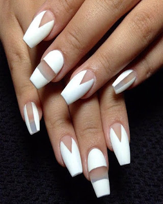 nail desings white 2019