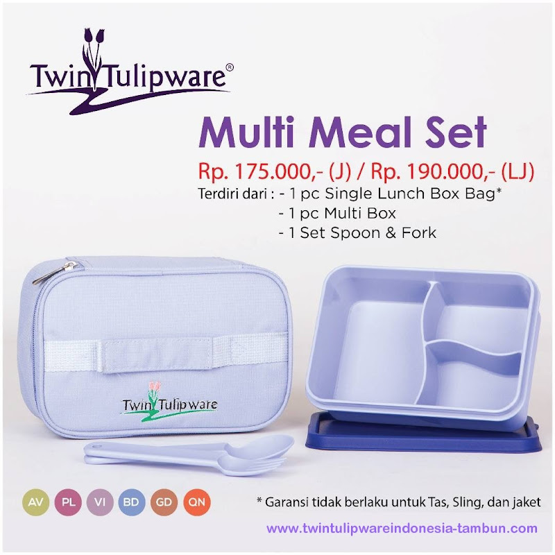 Multi Meal Set - Katalog 2017 Twin Tulipware