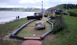 The Adventure Golf course in Scarborough's North Bay
