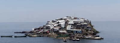 Migingo: Το πιο πυκνοκατοικημένο νησί στο κόσμο μοιάζει με χωματερή