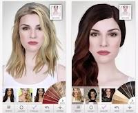App per provare acconciature tagli e colore dei capelli