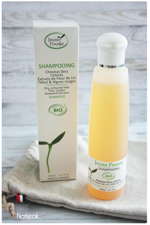 shampooing cheveux secs  et colorés bio  de Jeune Pousse