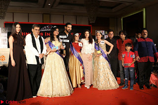 John Aham, Bhagyashree, Subhash Ghai and Amyra Dastur Attends Princess India 2016 17 036.JPG