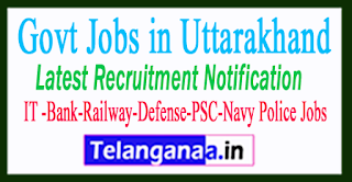 Latest Uttarakhand Government Job Notifications