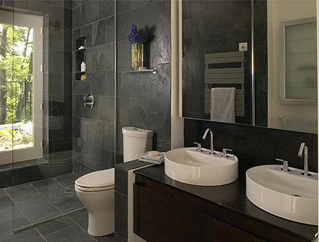 Decora el hogar modernos ba os peque os for Disenos de banos pequenos con ducha modernos
