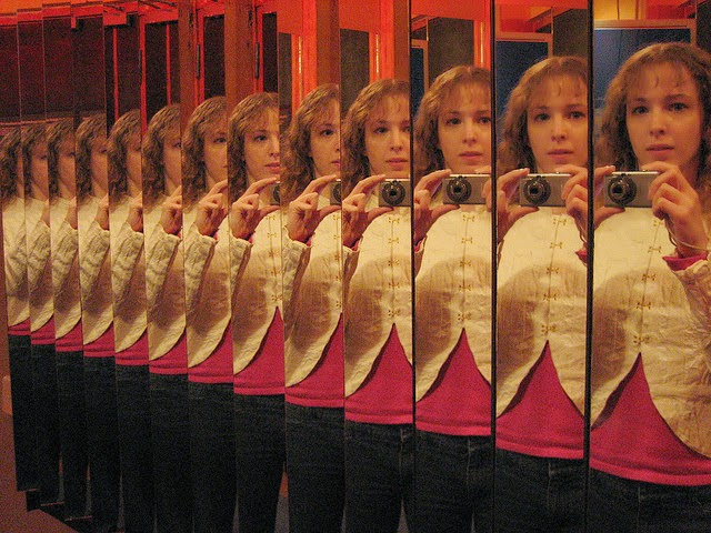 """mirror mirror"" by Tanya Hart (CC-BY) via Flickr"