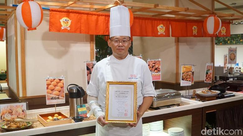 "Di Jepang punya Lo koki yang bersetifikat ""HALAL"""