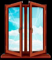 Двухстворчатая балконная дверь