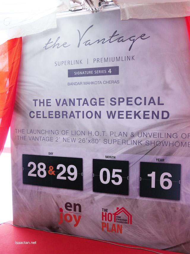 The Vantage Special Weekend Celebration